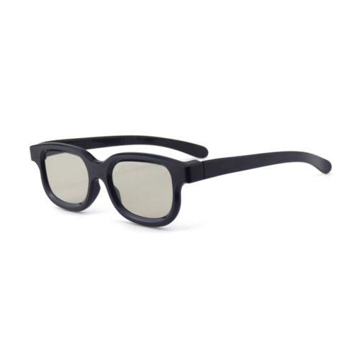 Spacebril van FestiLovers met diffractie hartjes effect - schuin aanzicht