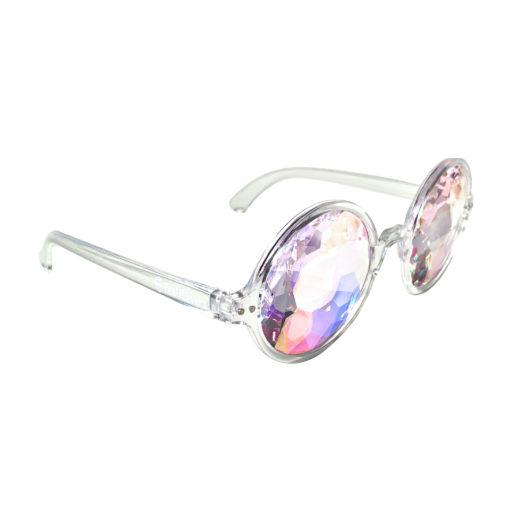 Doorzichtige (clear) spacebril FestiLovers