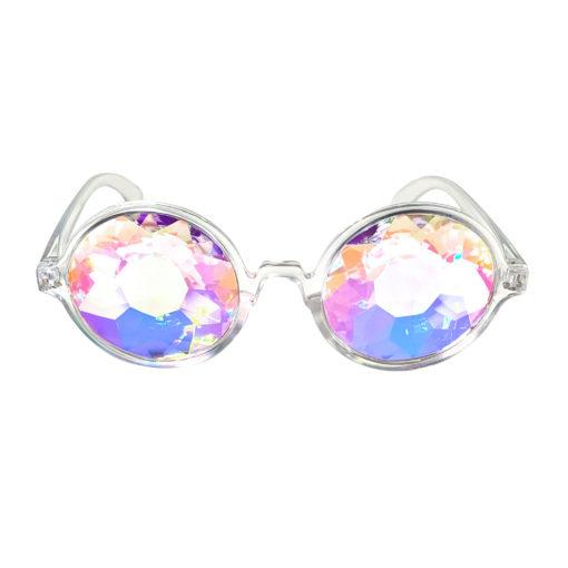 Doorzichtige clear spacebril FestiLovers