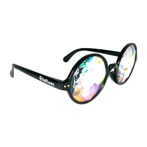 Zwarte spacebril FestiLovers