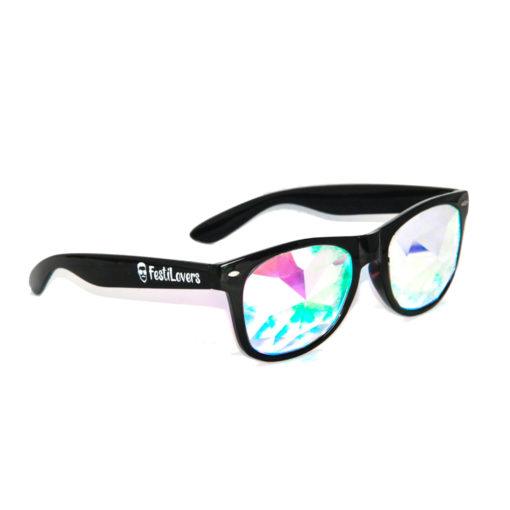 Spacebril zwart wayfarer