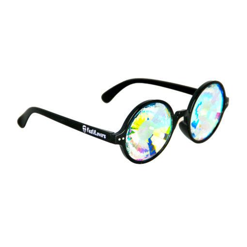 spacebril met rondje zwart
